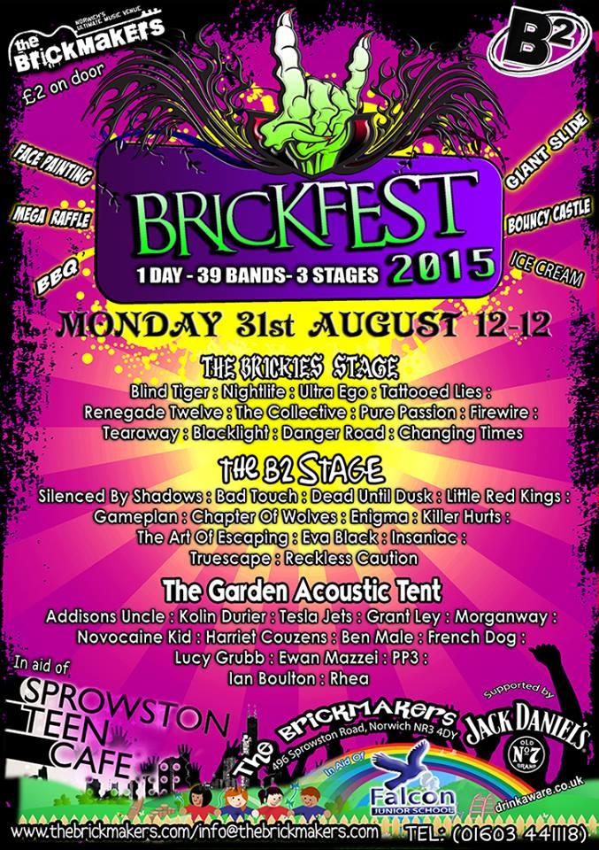Brickfest 2015 poster
